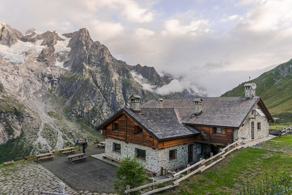 stage 6, Rifugio Bonatti, Tour du Mont Blanc, Italy