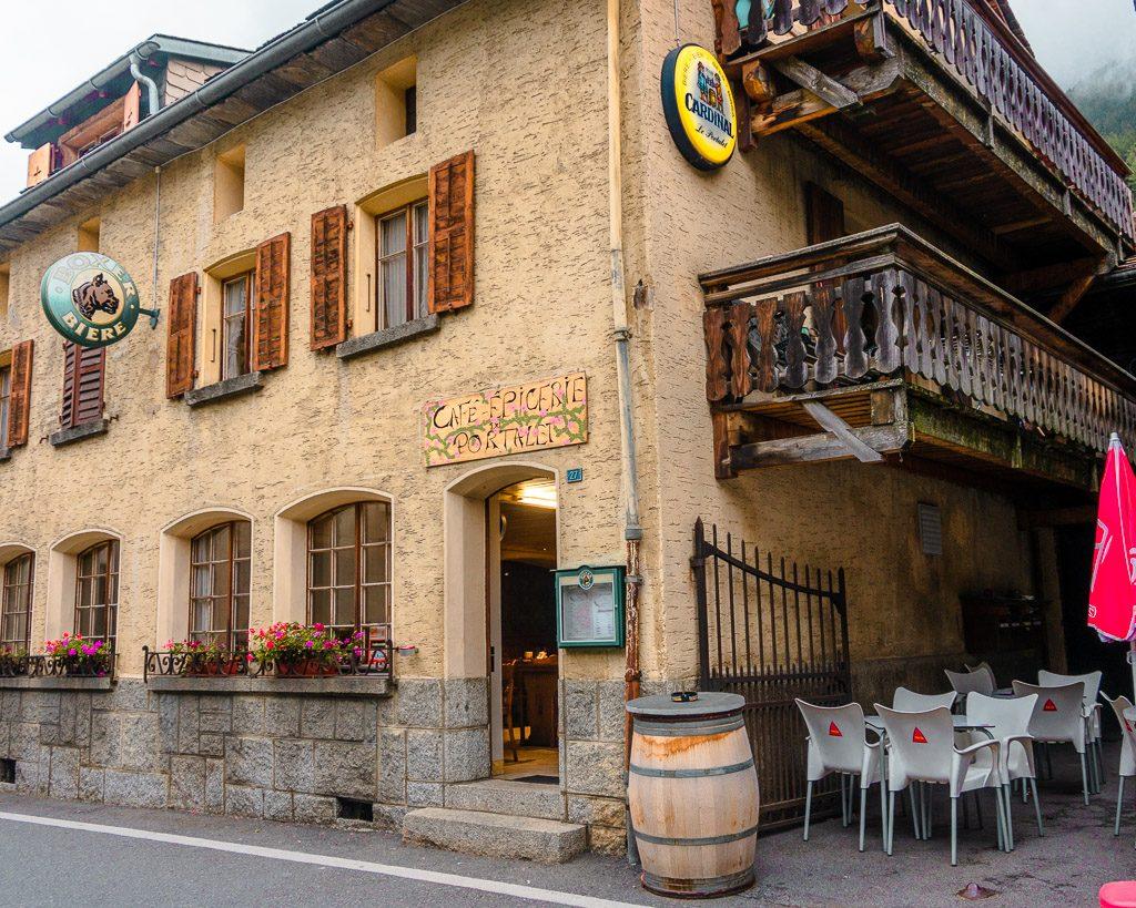 stage 7, Praz de Fort, Tour du Mont Blanc, Swiss Alps