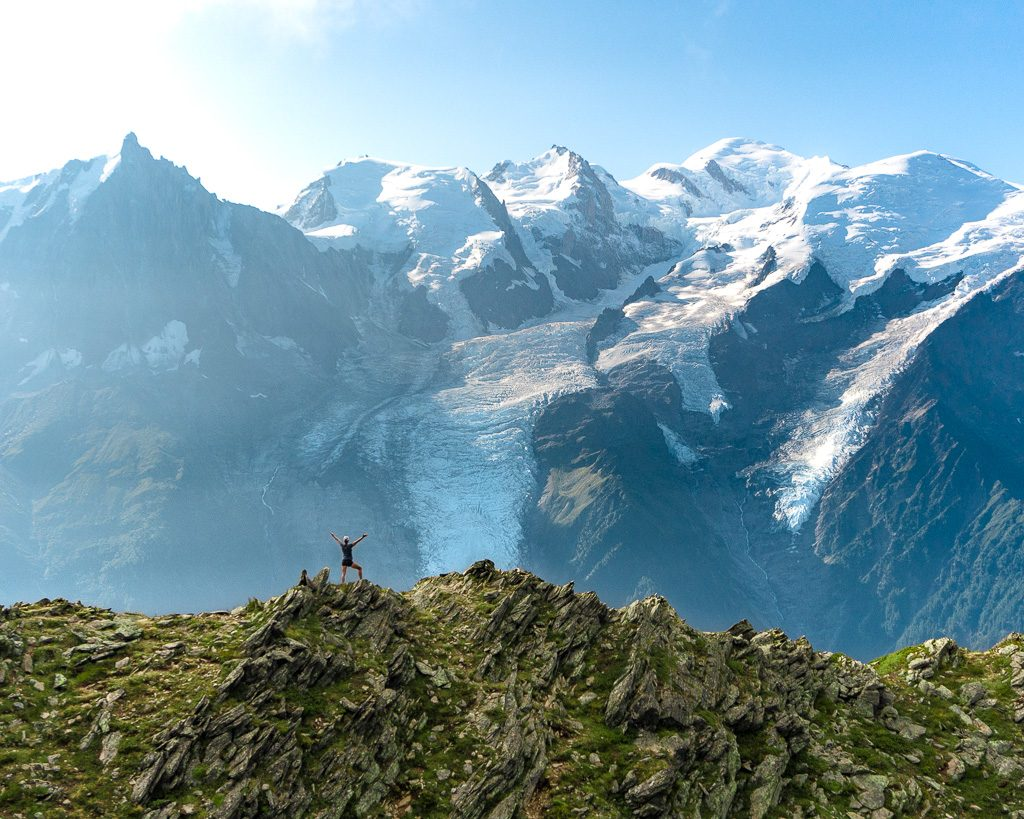 Stage 11 of the Tour du Mont Blanc from Le Brevent to Les Houches