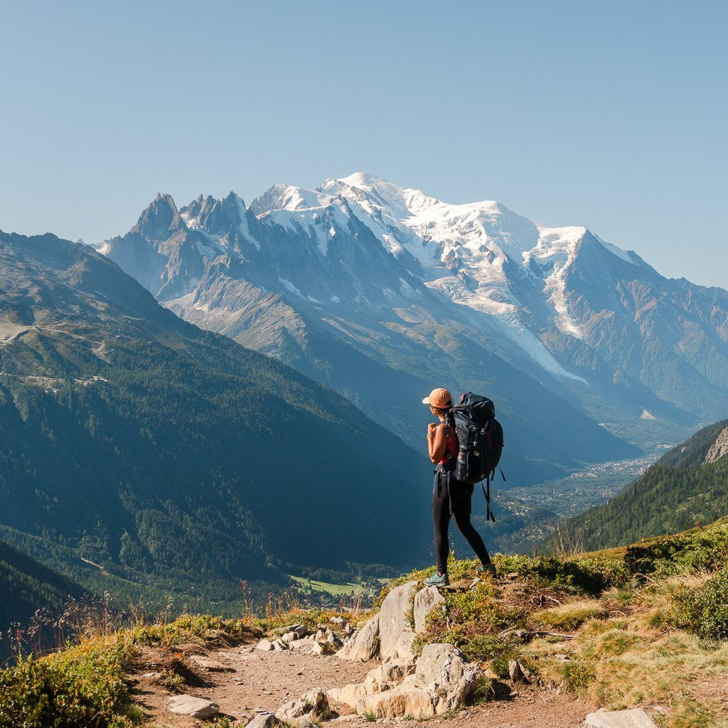 Tour du mont blanc stage 10, French alps