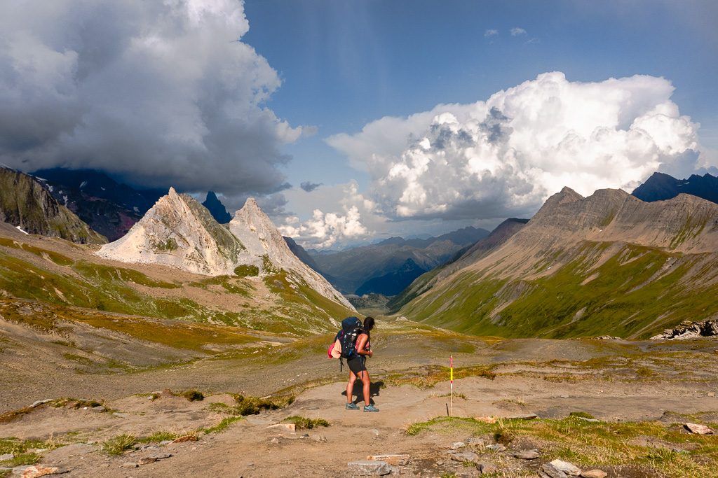 stage 3 summit, Tour du Mont Blanc