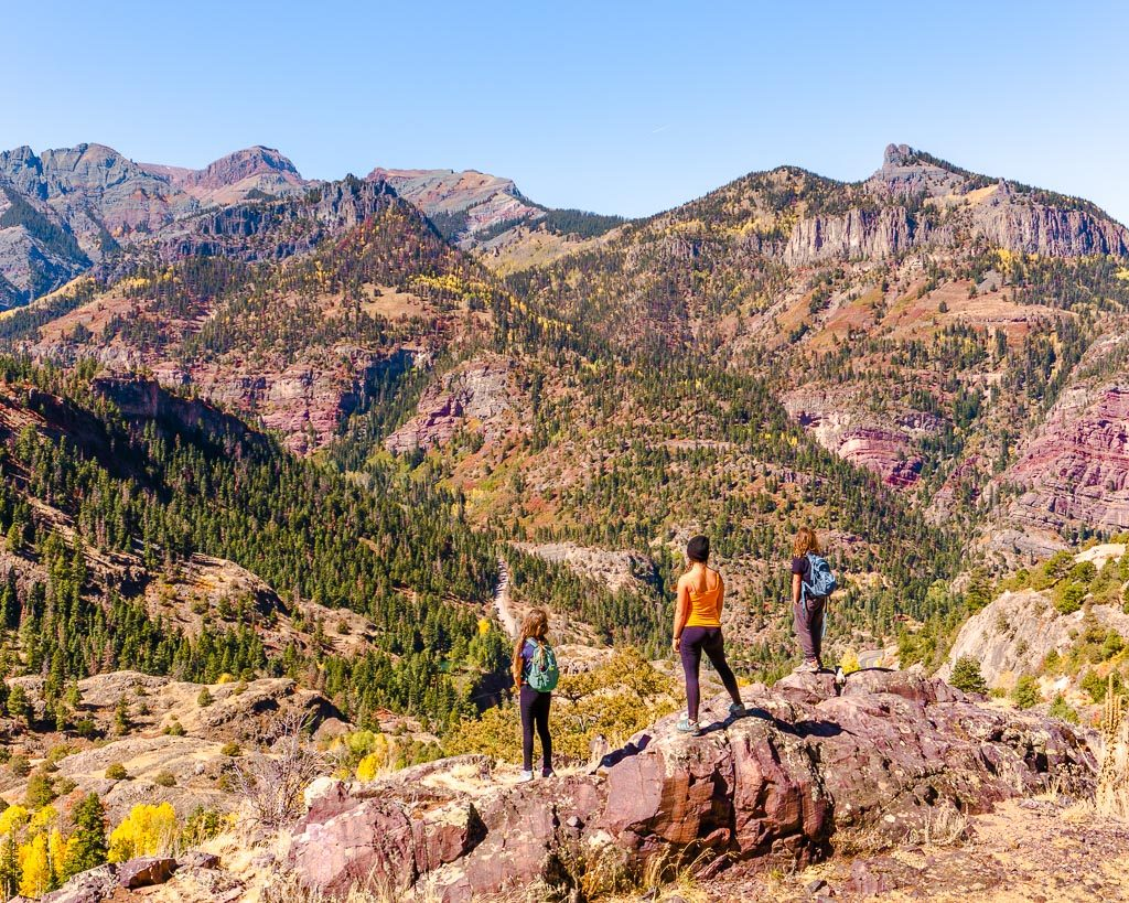 Perimeter trail, Ouray, Colorado, things to do