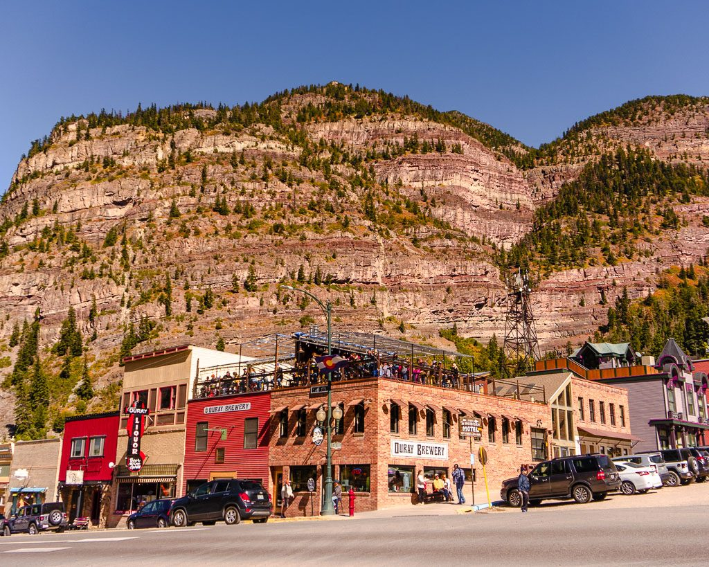 Ouray brewery, Colorado, things to do