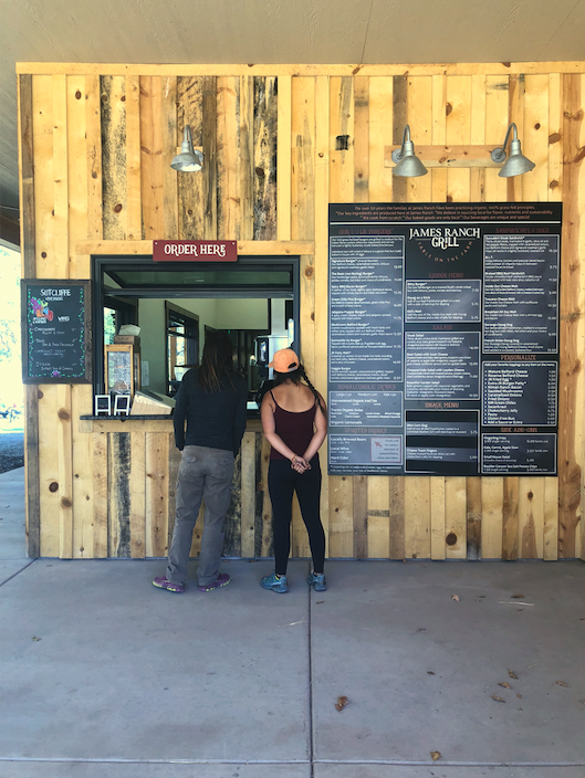 James Ranch Harvest Grill on the Million Dollar highway near Hermosa, Colorado