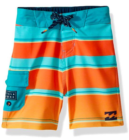 billabong boys board shorts to pack for hawaii