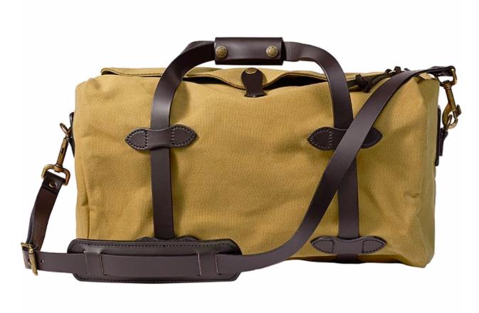 Filson duffel bag for Hawaii