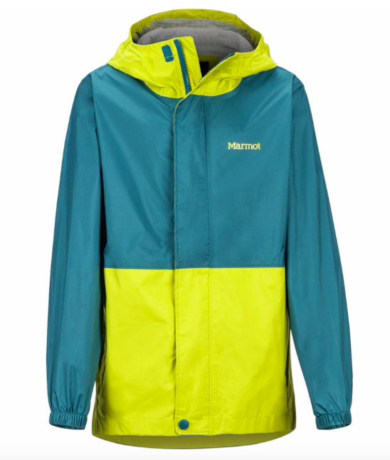 boys PreCip Eco rain jacket for a hawaii trip