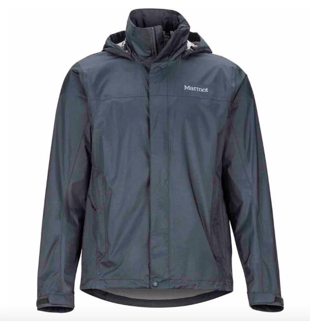 mens PreCip Eco rain jacket for a hawaii trip