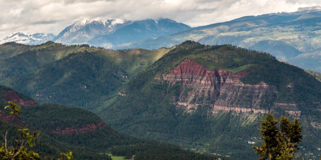 Animas Mountain Overlook, things to do durango, Colorado