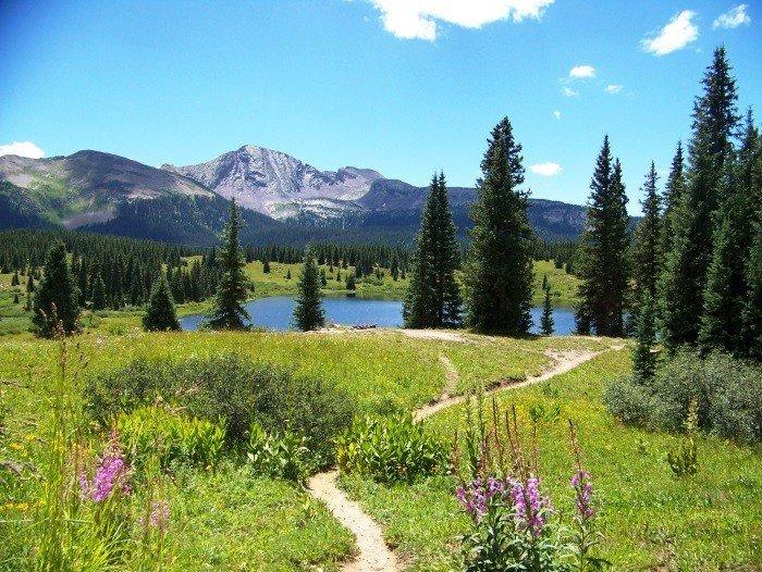 Little Molas Lake Campground north of Durango