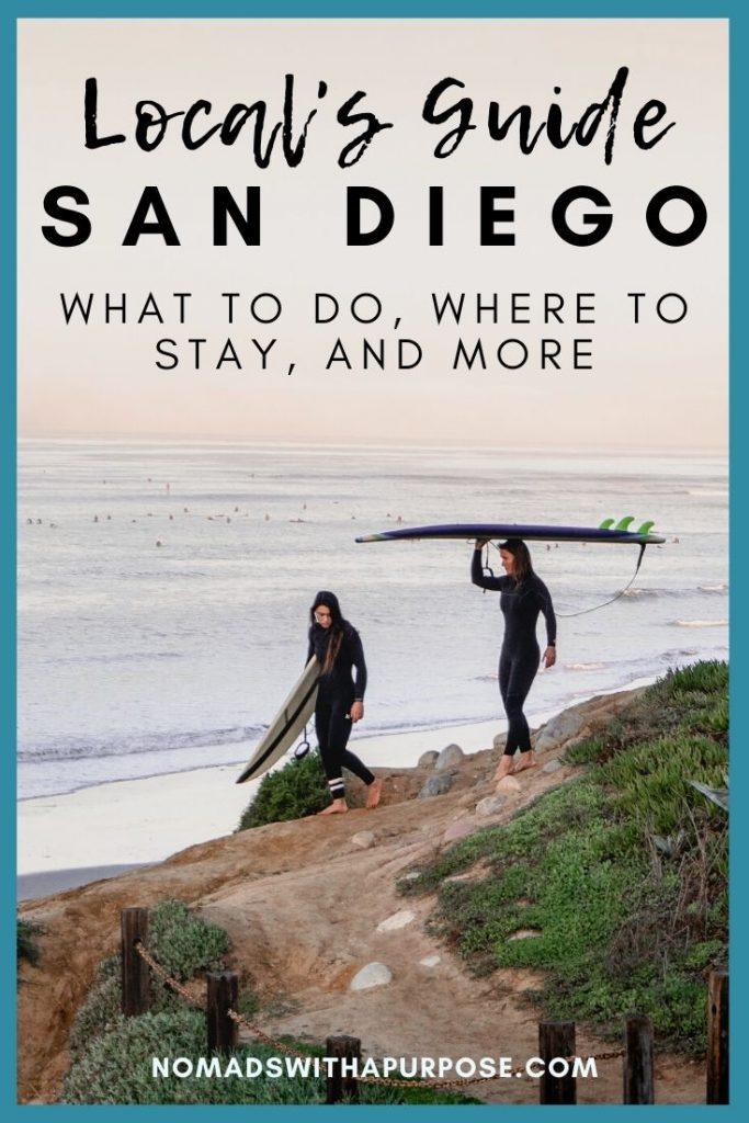 san Diego locals travel guide