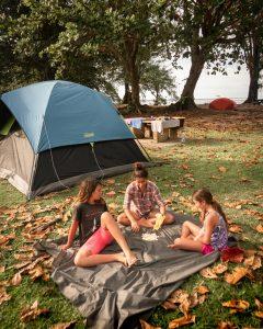 Anini State Campground, Kauai, Hawaii