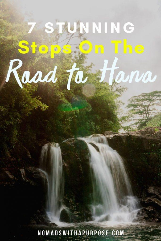 7 stunning stops on the Road to Hana