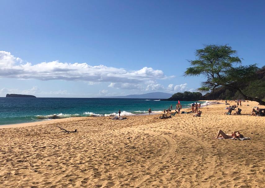 Big beach, Kihei, Maui