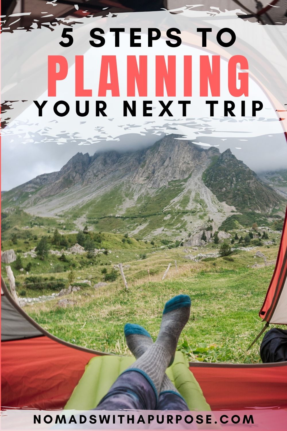 5 Tips for planning your next trip pin