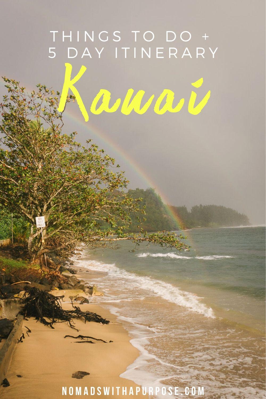 Things to do Kauai
