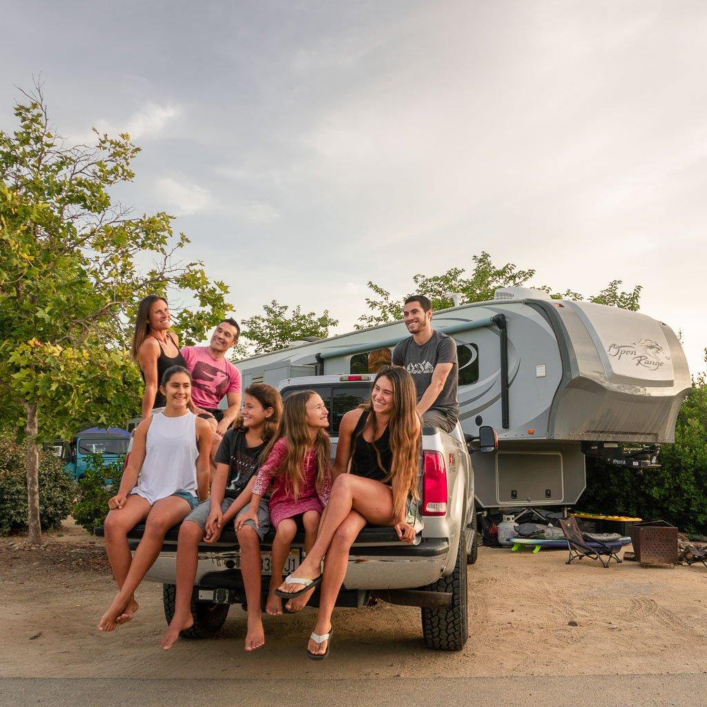 Nomad RV living Family