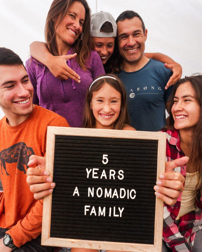 5 Year Nomad Family Anniversary