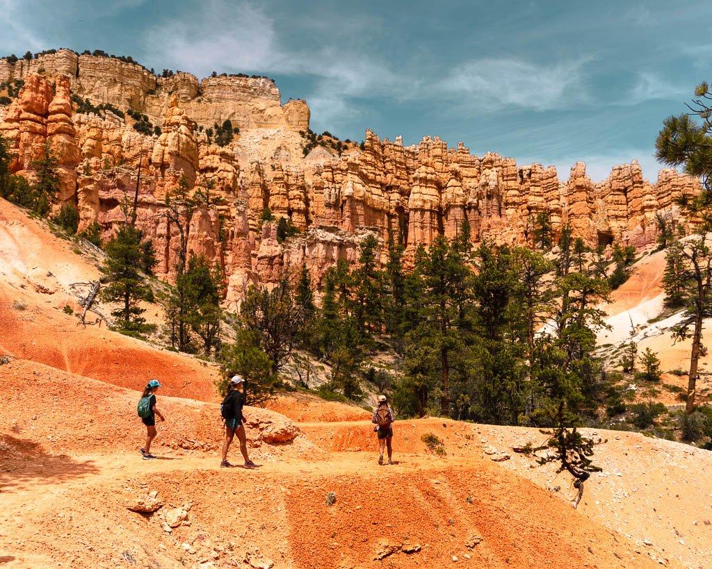 Bryce Canyon, National Park, Hiking Fairyland Loop, Spring