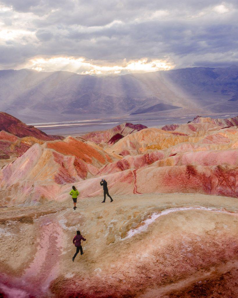 Zabriskie Point, Death Valley National Park, Spring Break Destination
