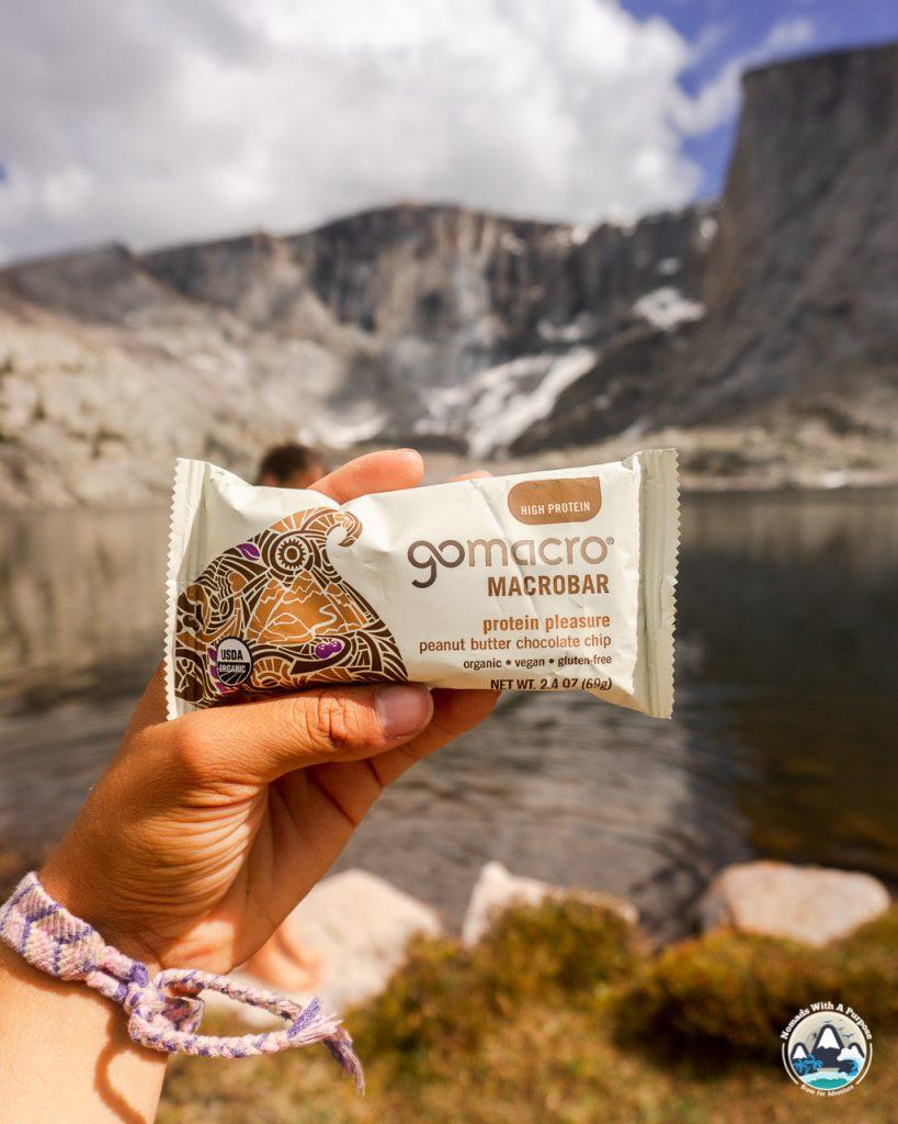 Go Macro, healthy vegan hiking snack bars
