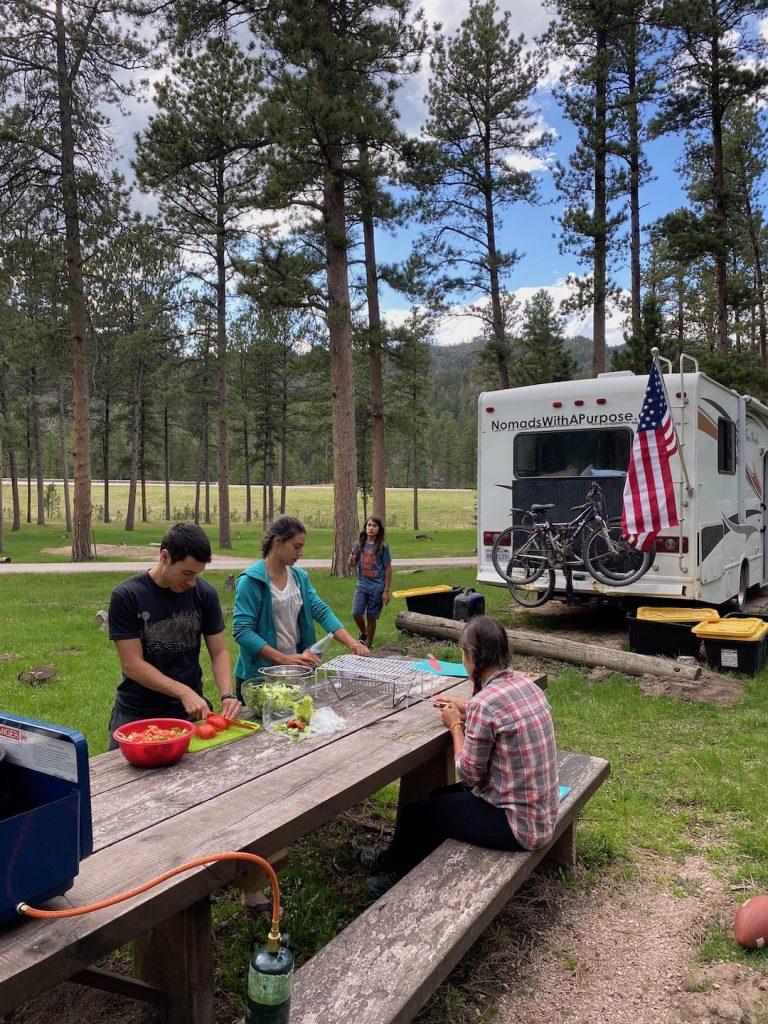 Oreville Campground, Best Campgrounds Black Hills, South Dakota