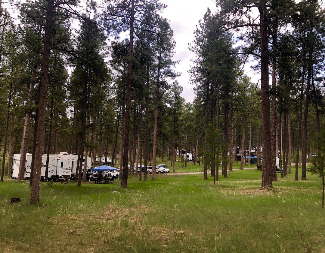 Sheridan Lake, Best Camping Black Hills