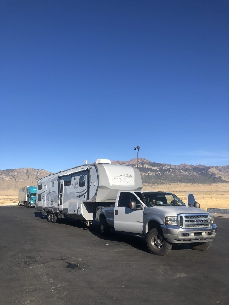Driving Large RV in Yellowstone and Grand Teton NP