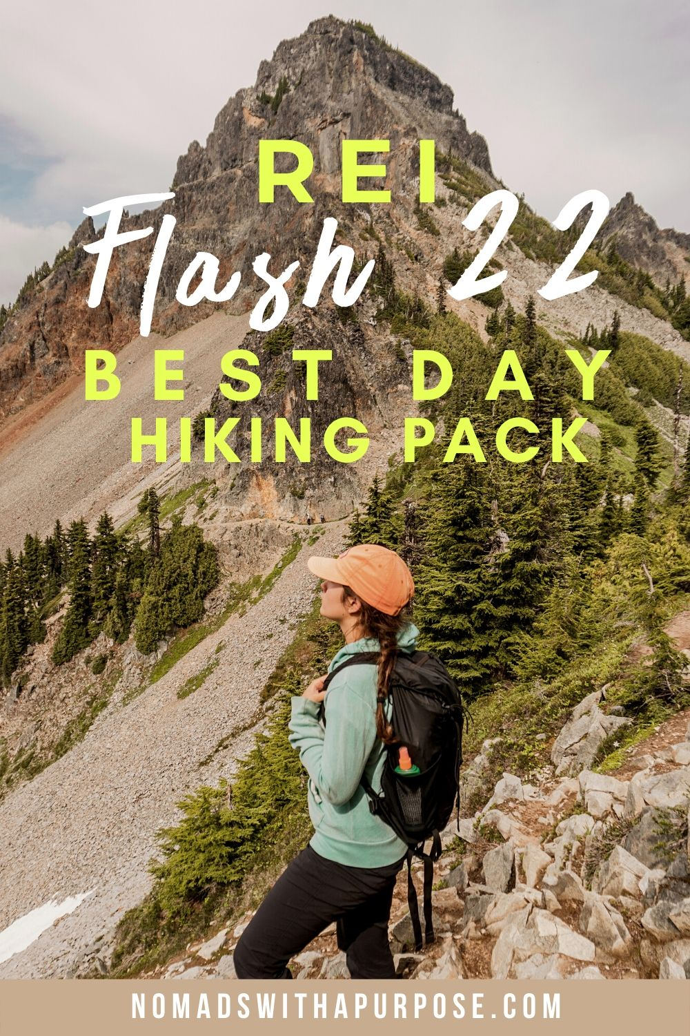 REI Flash 22 best day hiking backpack