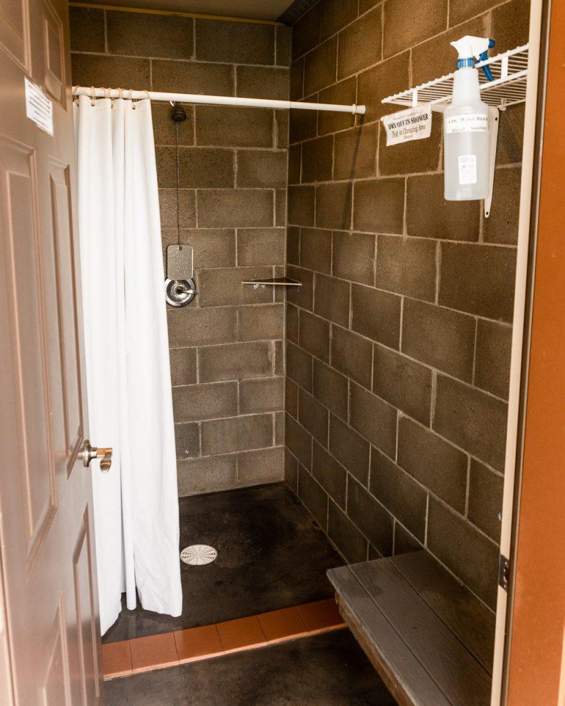 Showers, Spearfish KOA, Campgrounds South Dakota