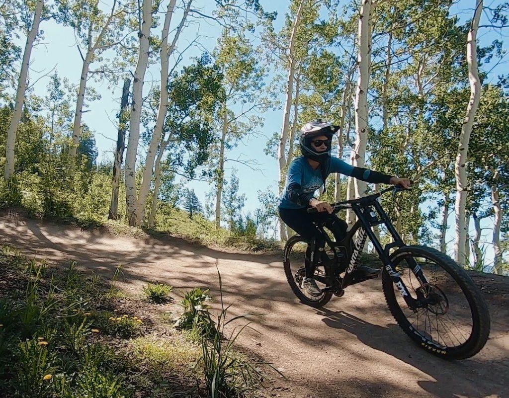 Summer Mountain Biking, Grand Targhee, Alta