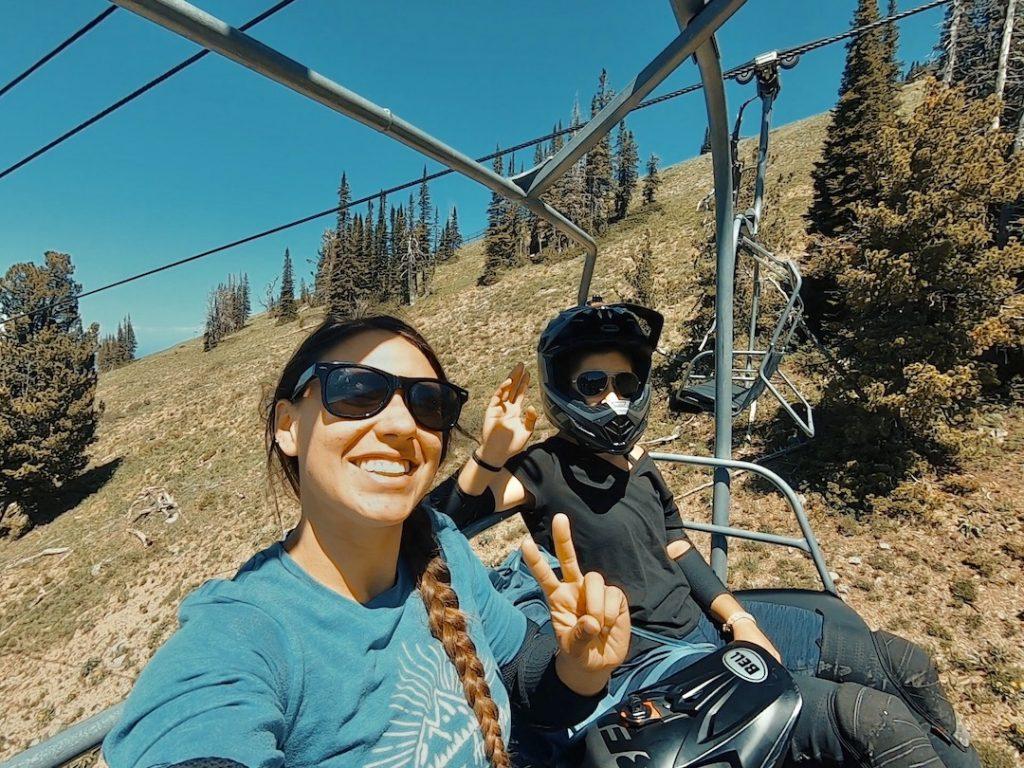 Summer Bike Park in Alta Wyoming