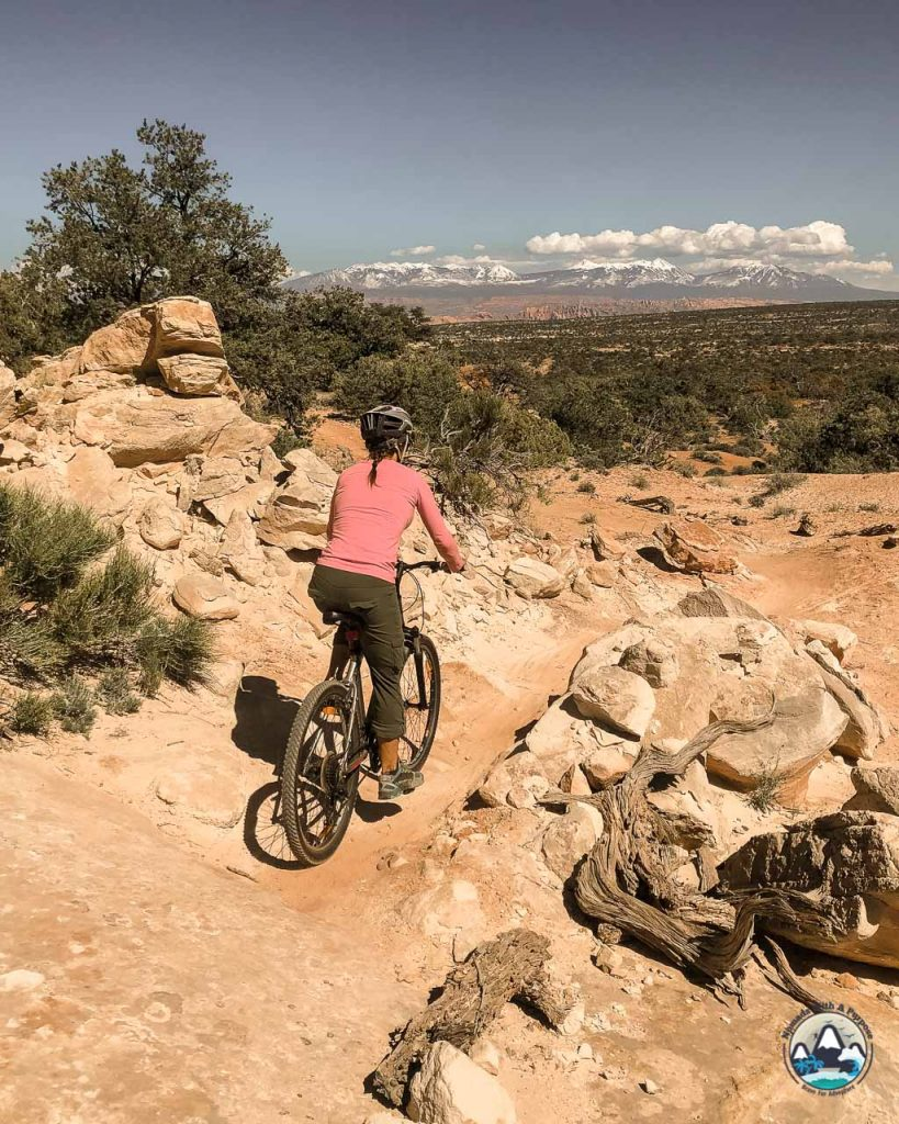 Mountain Biking Moab Utah