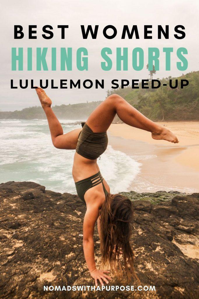 Lululemon speed up best hiking shorts social
