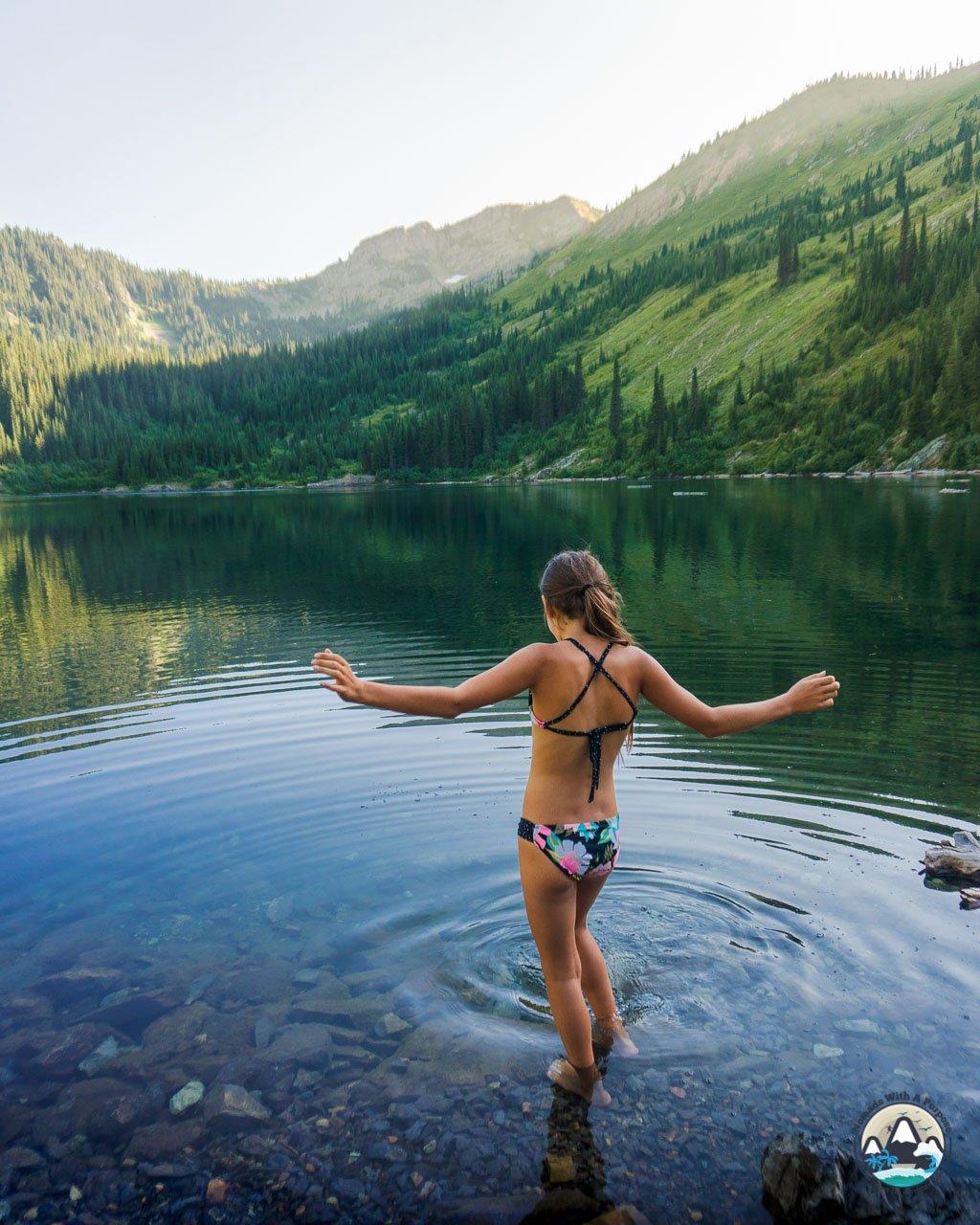 Stevens Lake, North Idaho