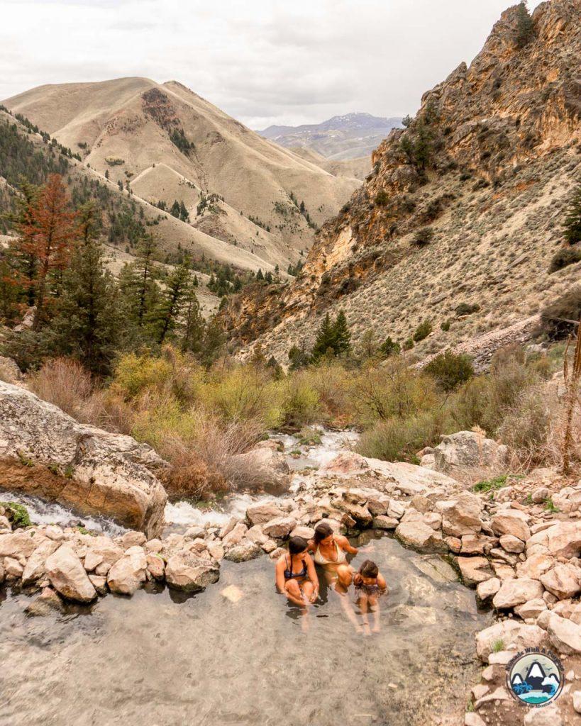 Goldbug Hot Spring, Best Hikes Idaho