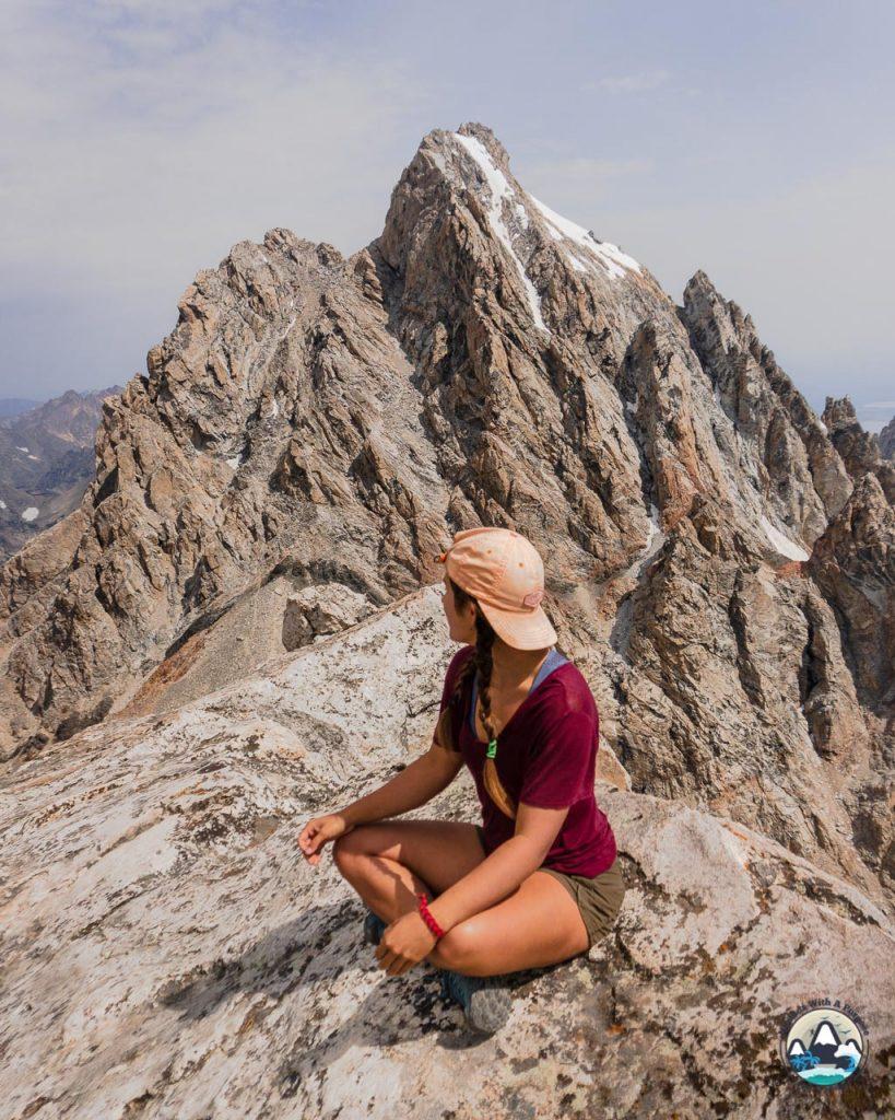 Middle Teton Hike Summit