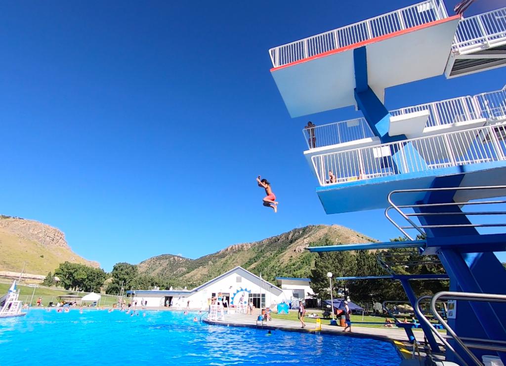 Lava Waterpark diving platforms