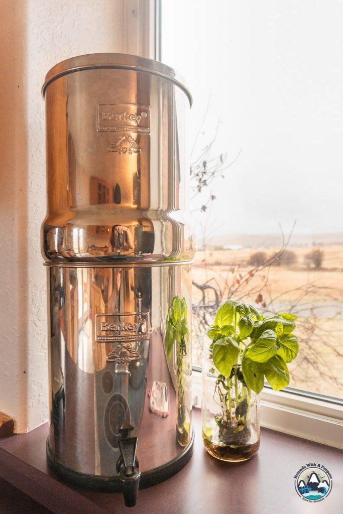 Royal Berkey 3.25 gallon water filter