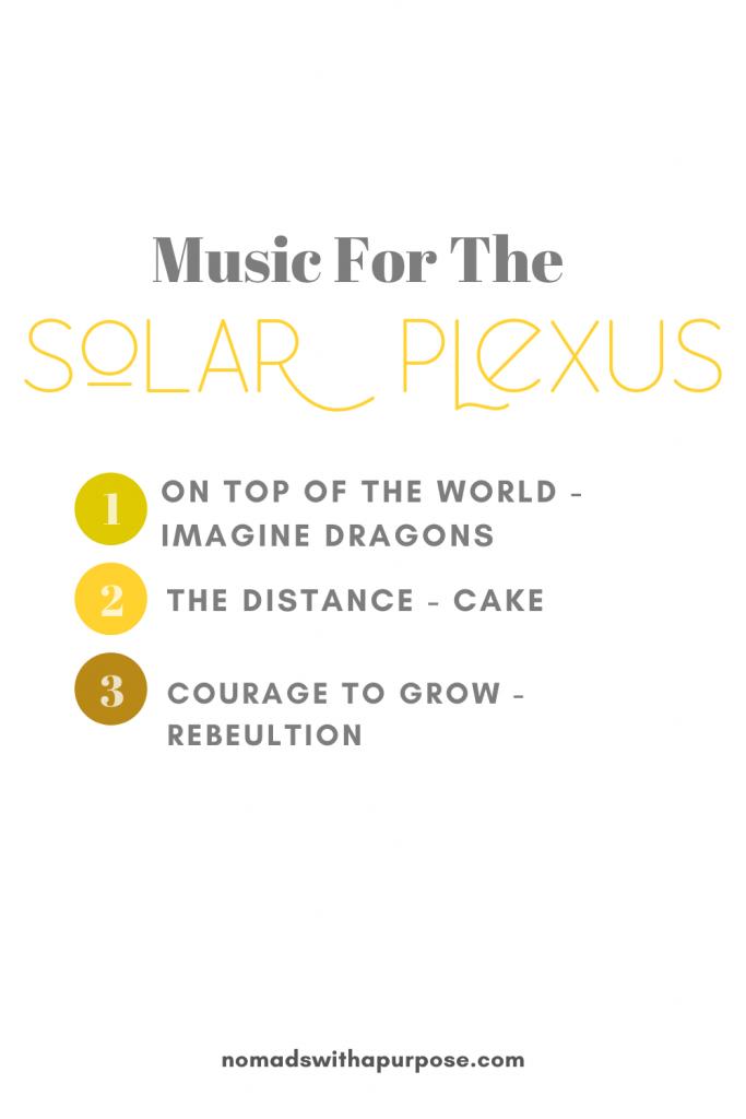 Music For The Sola Plexus Chara