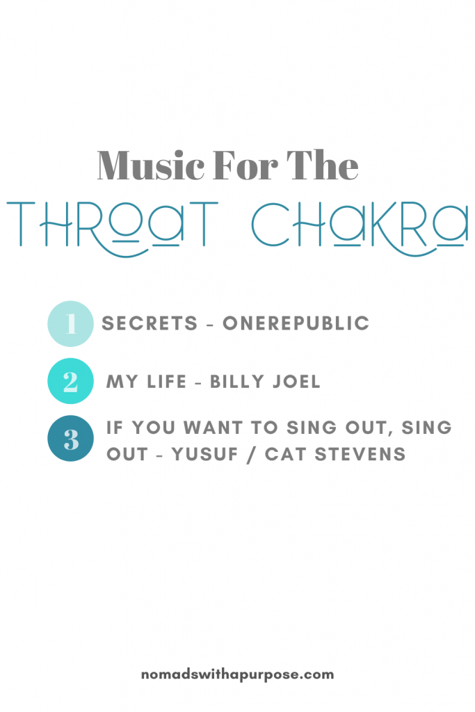 Music For The Throat Chakra