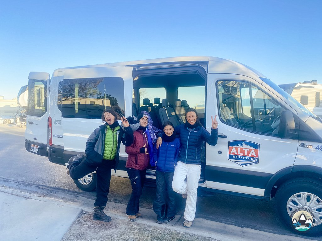 Alta Shuttle, Skiing Little Cottonwood Canyon