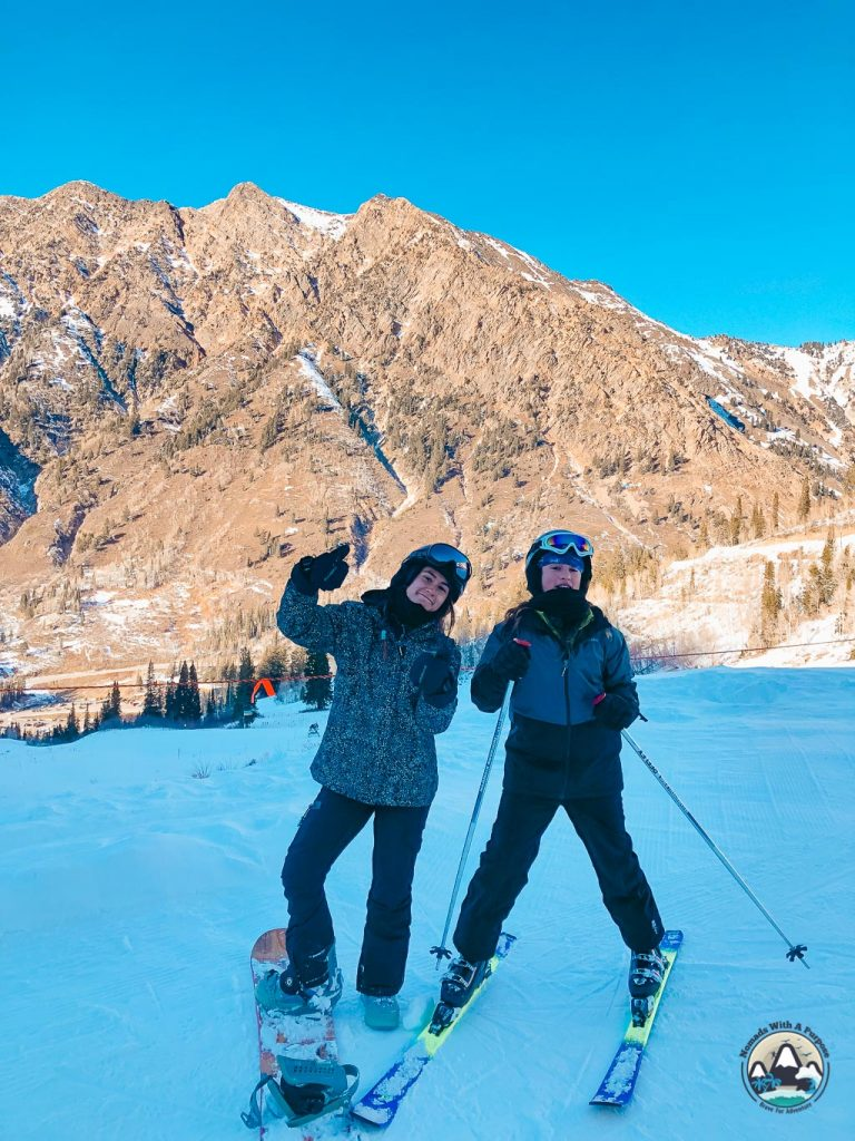 Snowboarding Snowbird Resort