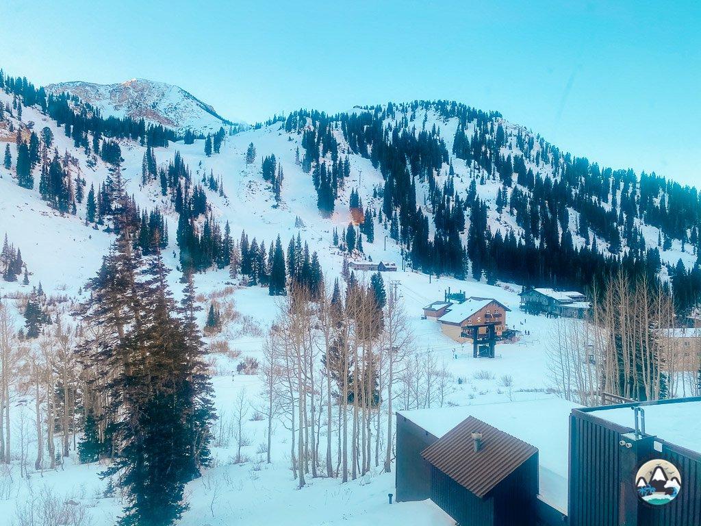 Wildcat Base Area at Alta Ski Area