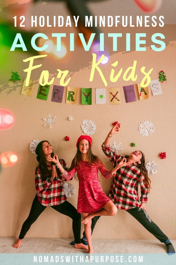 Holiday Mindfulness Activities For Kids Featured Image