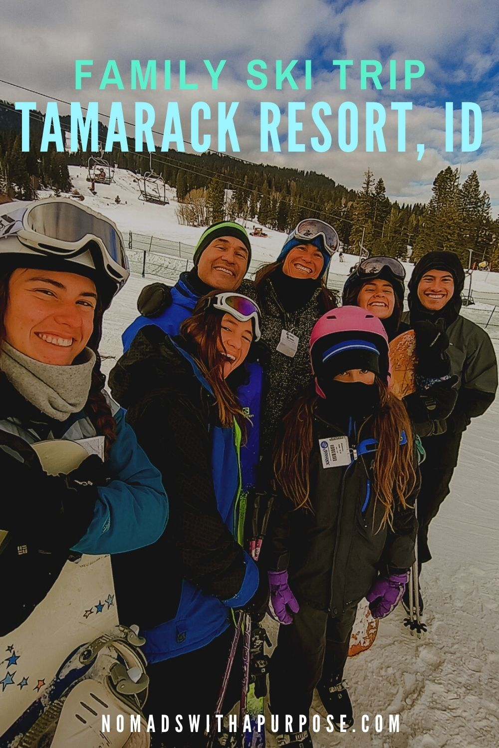 Tamarack Resort, Family Ski Trip, Idaho