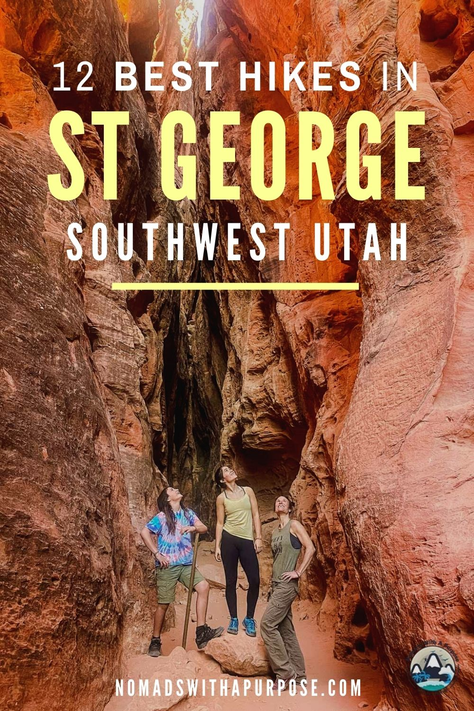 12 Best Hikes St George, Utah