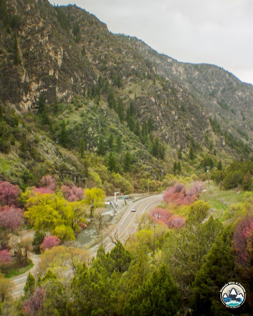 Logan canyon, best campgrounds in Utah