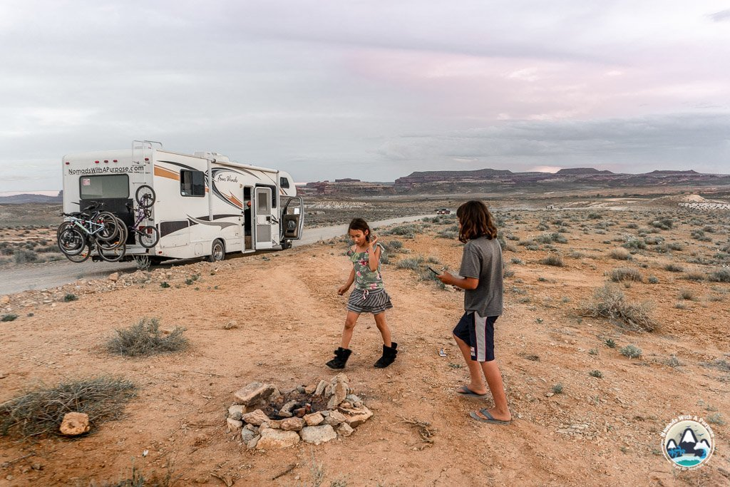 Best campgrounds Utah, free camping Moab