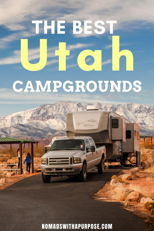 20 Best Utah Campgrounds